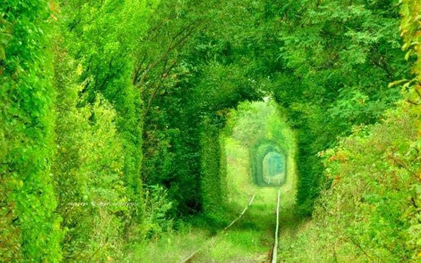 tunelul dragostei caransebes